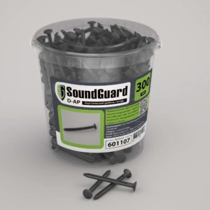 Крепеж для звукоизоляции