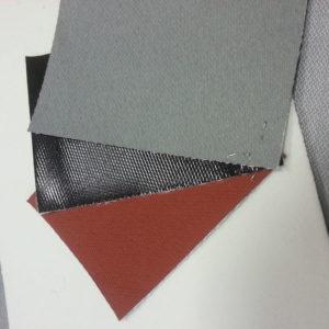 Огнестойкие негорючие ткани с покрытием