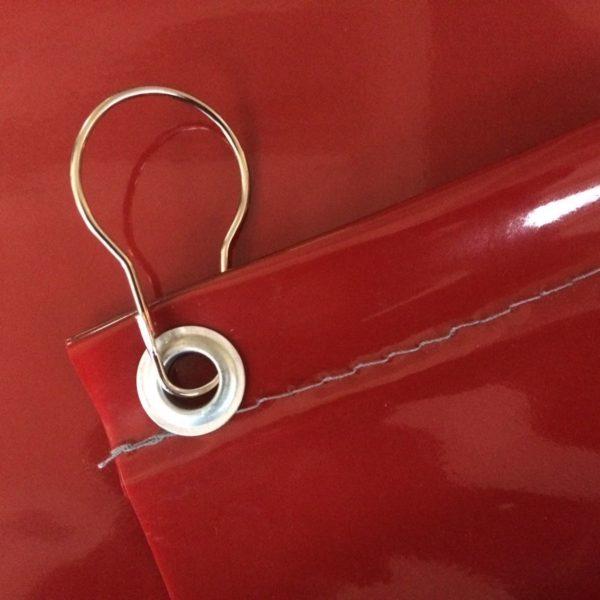 Сварочная штора Weldtex PVC красная